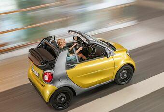Smart Fortwo Cabrio, dak in 3 posities #1