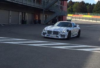 La Mercedes-AMG GT Black Series en test à Francorchamps  #1