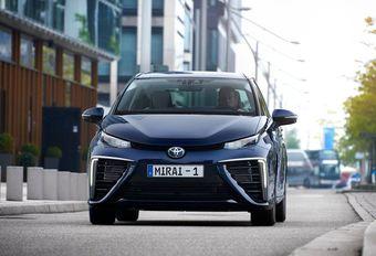 Toyota Mirai: technische gegevens bekend #1