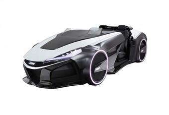 Nooit meer afgeleid met Mitsubishi Emirai 3 xDAS Concept #1