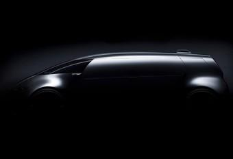 Teaser Mercedes Vision Tokyo: zelfrijdende bestelwagen #1