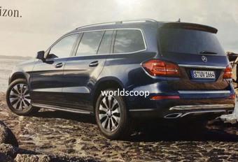 Mercedes GLS : premières images en fuite #1