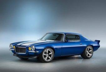 Une vraie fausse Camaro 1970 au SEMA Show #1