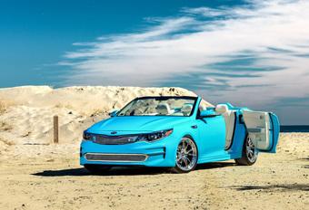 Kia Optima Roadster A1A Concept : cabrio 4 portes #1