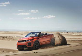 VIDÉO | Range Rover Evoque Cabriolet : prendre le soleil hors piste #1