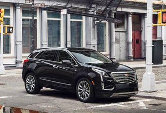 Cadillac XT5 lost de SRX af #1