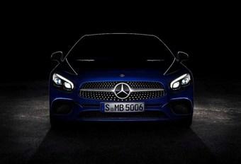 La Mercedes SL montre son nouveau nez #1