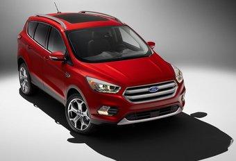 Ford Escape: facelift op komst voor de Kuga #1