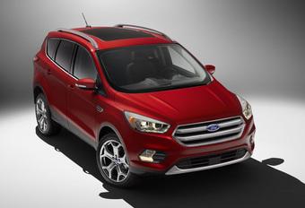 Facelift Ford Escape voorbode opgefriste Kuga #1