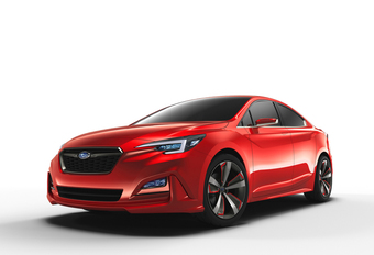 Subaru showt Impreza Sedan Concept in Los Angeles #1
