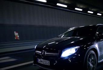 Le Mercedes GLA roule pour Nintendo et Super Mario #1
