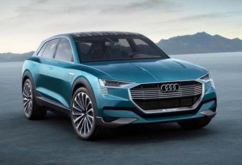 Une Audi Q6 à hydrogène pour Détroit #1