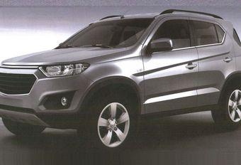 Chevrolet Niva : nouvelle génération sans Lada #1
