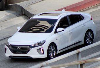 Hyundai Ioniq définitive en tournage #1