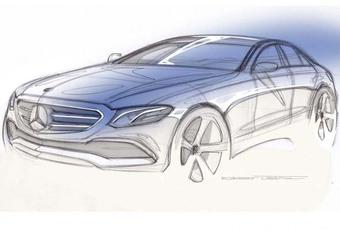 Mercedes Classe E : nouveau teaser, nouvelle vidéo #1
