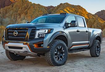 Nissan Warrior is ruige pick-up op zijn Amerikaans #1