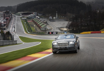 Rolls-Royce Wraith « Spa-Francorchamps Edition » : unique #1