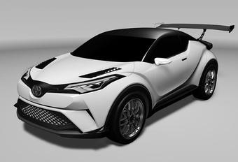 Toyota gaat SUV-racen met C-HR van Gazoo Racing #1
