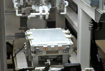 Nissan investit dans son usine de batteries #1