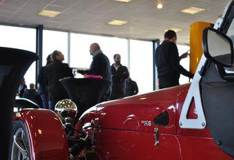 Caterham en Lotus hebben nieuwe showroom in Luik #1