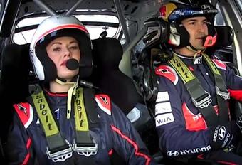 En route avec l'i20 WRC et Katrina Patchett #1