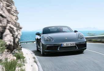 VIDEO - Porsche 718 Boxster: viercilinder turbo #1