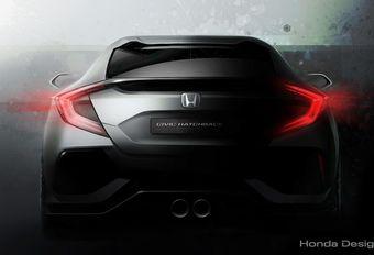Honda dévoilera le concept de la nouvelle Civic à Genève #1