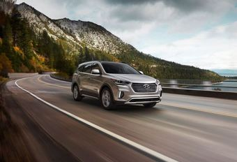 Hyundai Grand Santa Fe: Amerikaanse update #1