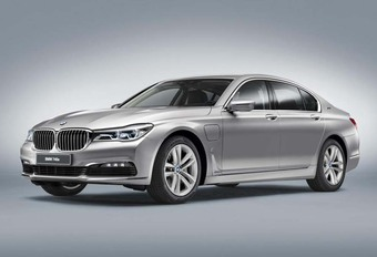 BMW 740e iPerformance : hybride et rechargeable #1