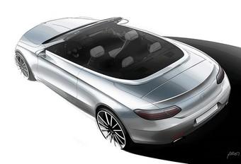 Esquisse de la Mercedes Classe C Cabrio #1
