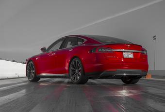 Tesla herschikt Model S-gamma #1