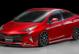 Toyota Prius met spierversterkers #1