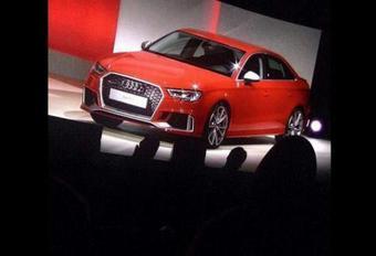 Audi RS3 dévoilée par mégarde #1
