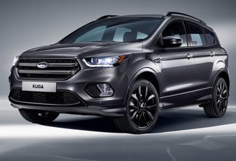Ford Kuga : facelift au salon du GSM de Barcelone #1
