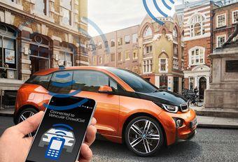 BMW Vehicular CrowdCell: zendstation voor mobiele telefonie #1