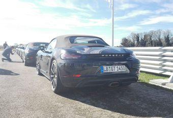 Premier contact avec la Porsche 718 Boxster… en passager #1