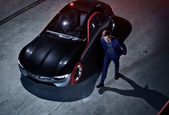 Filmpremière van Opel GT Concept #1