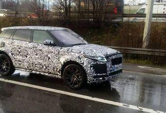 Une variante Range Rover Evoque ou le Jaguar E-Pace en test sur nos routes #1