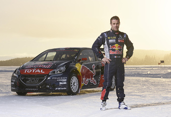 Sébastien Loeb met Peugeot naar het WK rallycross #1