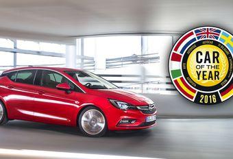 Opel Astra élue voiture de l'année 2016 #1