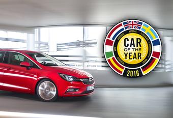 Opel Astra is Auto van het Jaar 2016 #1