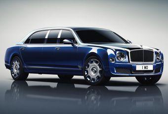 Bentley Mulsanne Grand Limousine by Mulliner: vorstelijke koets #1