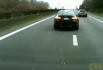 Le chauffard en BMW en prison #1