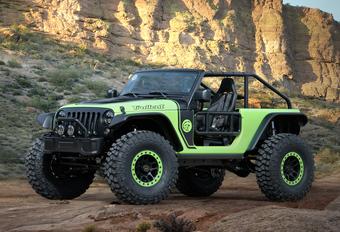Jeep met... zeven nieuwe concepts naar Easter Safari #1