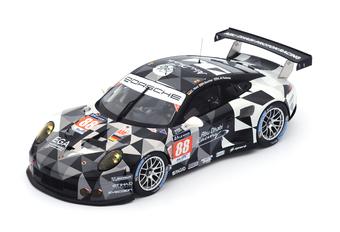 In het klein: 'grote' Porsches (Spark, 1/18) #1