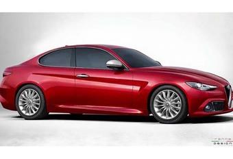 Alfa Romeo Giulia: ook als coupé? #1