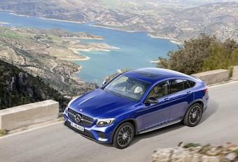 Mercedes GLC Coupé: rechtstreekse rivaal van de BMW X4 #1
