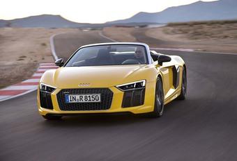 Audi R8 Spyder : 50% plus rigide ! #1