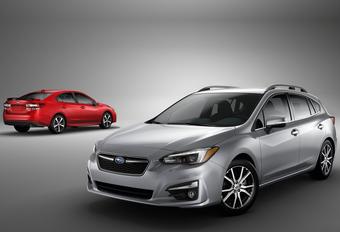 Nieuwe Subaru Impreza als sedan en vijfdeurs #1