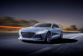 Genesis New York Concept : berline de luxe hybride #1